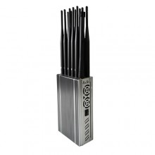 12 Bands Handheld design  All-in-one Mobile Phone 4G/3G/2G + WiFi(2.4G, 5.2G, 5.8G) + GPSL1L2L3L4L5 Signal Jammer