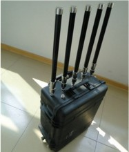 80W 5 Bands High Power Portable Wireless Anti-explosion Signal Blocker
