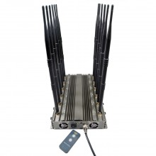 Newest Adjustable 12 Bands All-in-one WIFI GPS UHF VHF Mobile Phone Signal Jammer