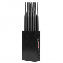 Lastest Handheld 14 Bands  All-in-one 2G/3G/4G Cell Phone 2.4G 5G WiFi GPS RF 315 433 868 Remote Control Signal Jammer