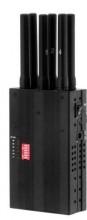 Portable 3G Cellphone GPSL1 GPSL2 GPSL5 LoJack Signal Jammer with Selectable Buttons