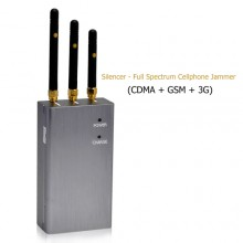 Handheld Type 3G Mobile Phone Signal Jammer with 3 Antennas