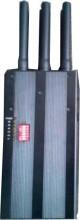 Portable High Capacity Battery Selectable GPS 2G 3G LoJack Signal Jammer