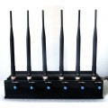 15W High Power WiFi GPS Mobile Phone Signal Jammer with Adjustable Design