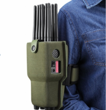 12 Antennas  Portable Full Mobile Phone Jammer 4G/3G/2G + WiFi(2.4G, 5.8G)+ GPS + 315/433/868 Car Remote Control Signal Jammer
