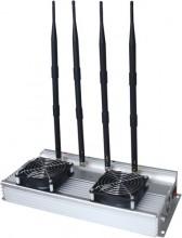 Powerful Desktop Design 3G Cellphone Signal Jammer for Indoor Using