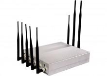 12W High Power 2G 3G Cellphone GPS WiFi VHF UHF Signal Blocker with Desktop Style