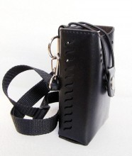 High Quality Leather Portable Signal Blocker Carry Case