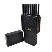 Latest Hidden 16 Antennas Mobile Phone WiFi(2.4G 5G)) GPS UHF/VHF All-in-one Portable Signal Jammer