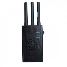 Handheld Style 2G 3G Mobile Phone Signal Blocker with 3 Antennas